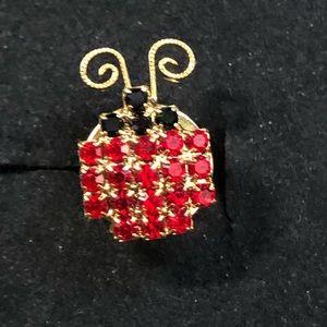 Vintage Lady Bug pin